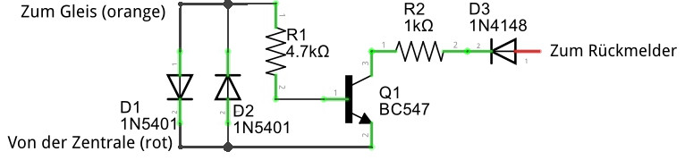 einfache Stromfühlerschaltung
